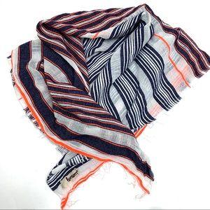 Lemlem striped scarf with fringe